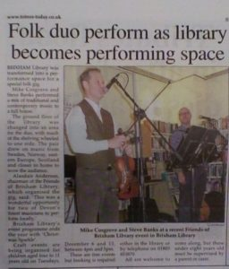 Cosgrave & Banks - Brixham News article