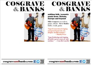 Cosgrave & Banks A5 OverPrint May 2016
