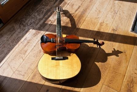 warp & weft : guitar-violin